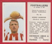 Sheffield United Gerry Summers 25
